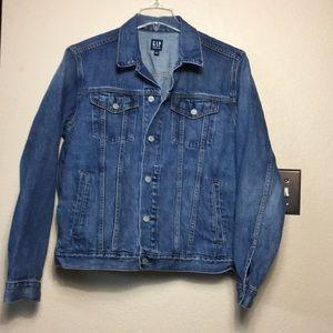 Gap denim Jean jacket size large